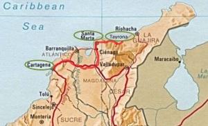 Route kaart 21d noord